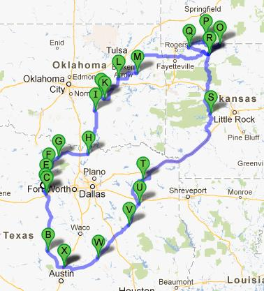 10 Days, 2035 Miles, With Thousands And Thousands of