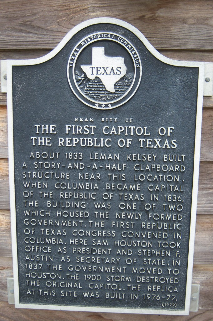 First Capital of Texas at West Columbia
