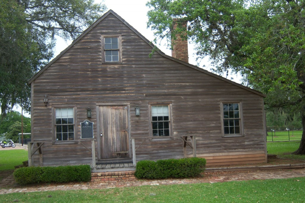 Replica of the First Capital Of Texas Building