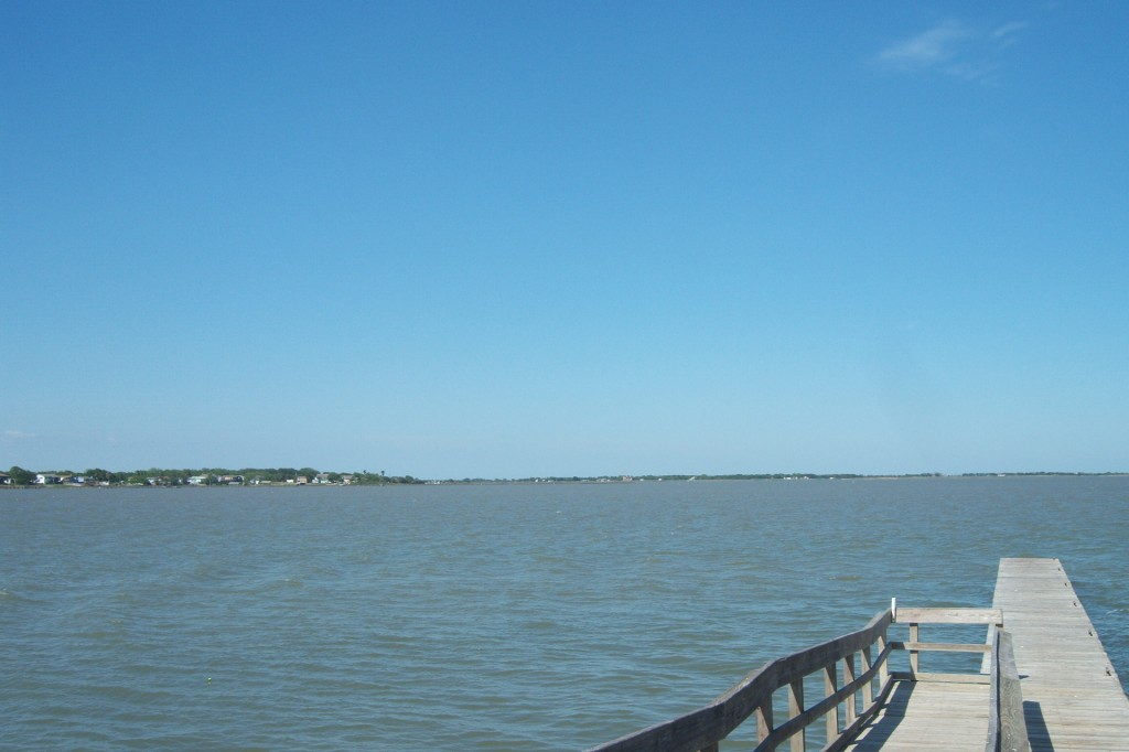 Tres Palacios Bay at Palacios, Texas