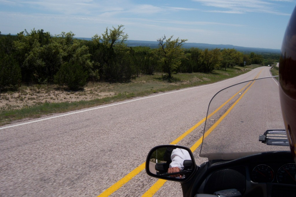 motorcycle, ride, Texas, Hill Country, Wildflowers