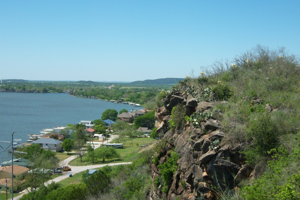 motorcycle, ride, Texas, Hill Country, Wildflowers, lake lbj
