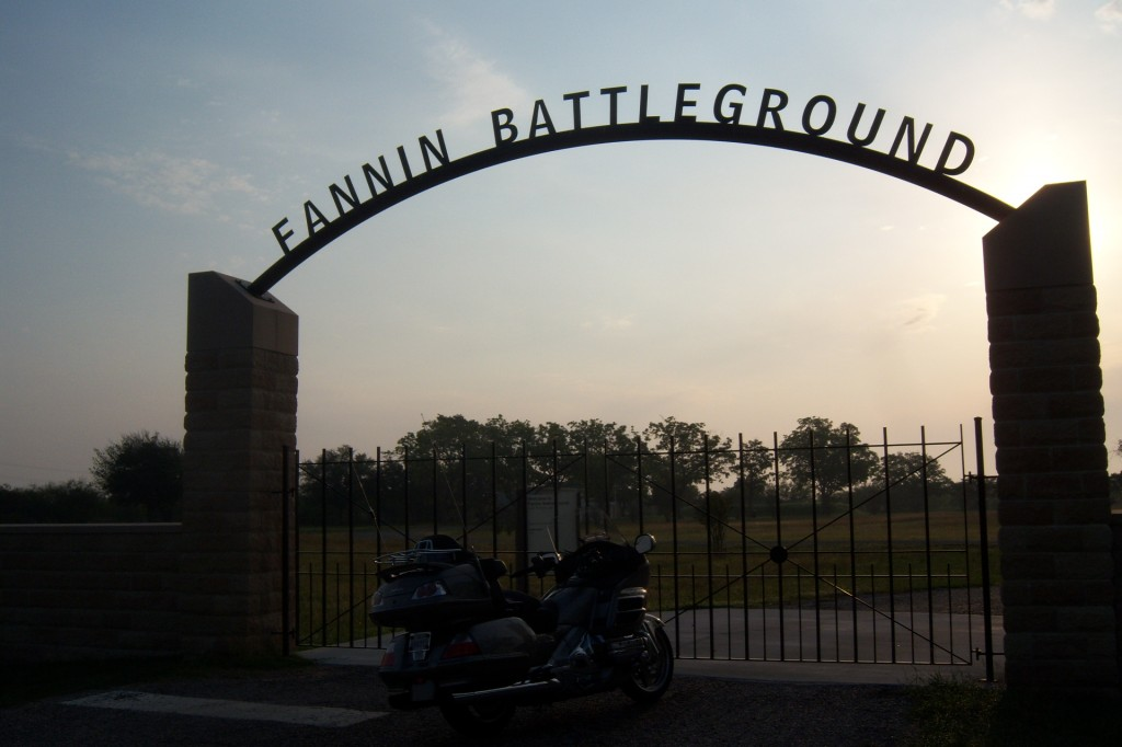 Texas Independence Trail, motorcycle, ride