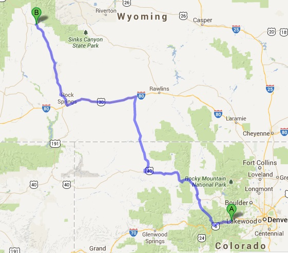 Pinedale to Grand Teton to Yellowstone to Gardiner, WY