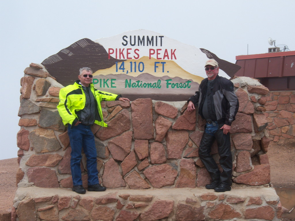 Me and Larry at Pikes Peak