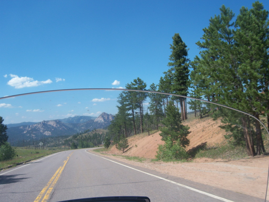 national park, motorcycle, ride, travel