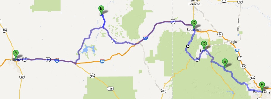 National Park, motorcycle, ride, travel, Devils Tower, Spearfish, Canyon
