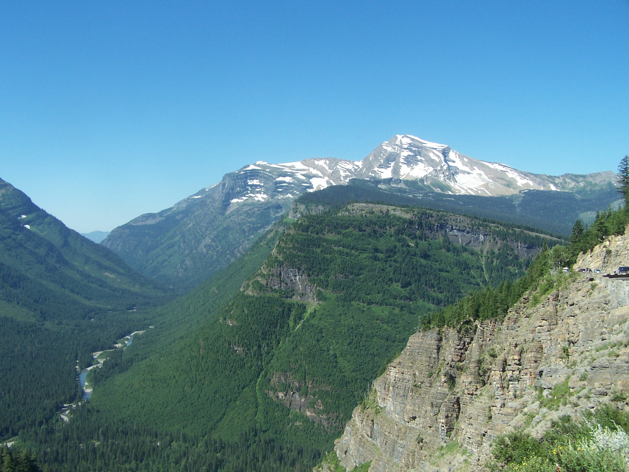 Day 8 National Park Motorcycle Ride Glacier National
