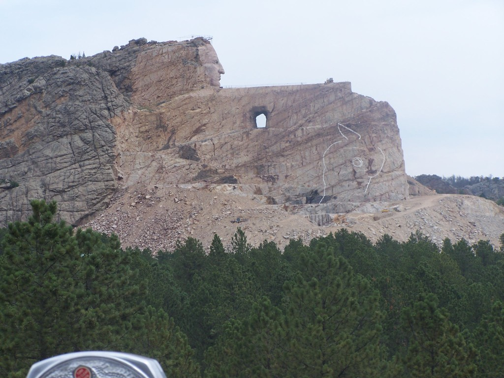 Crazy Horse Monument a 63 year work in progress