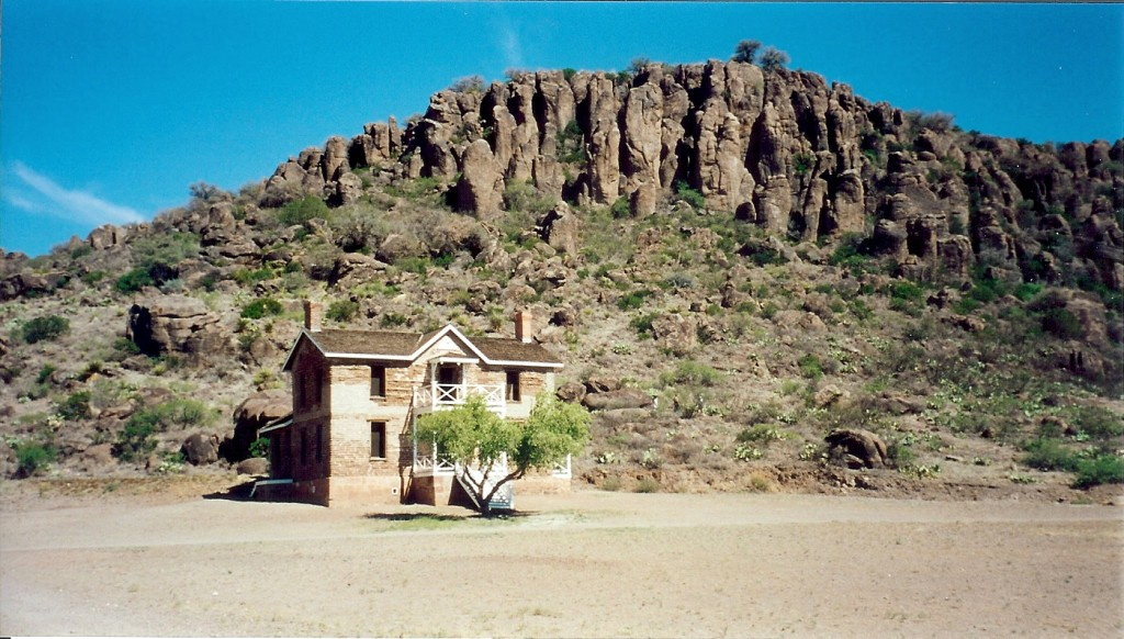 Officer Quarters at Fort Davis
