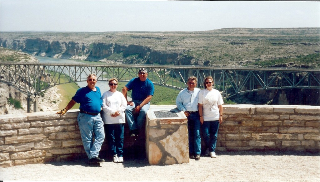 Pecos River Rest Stop at Hwy 90
