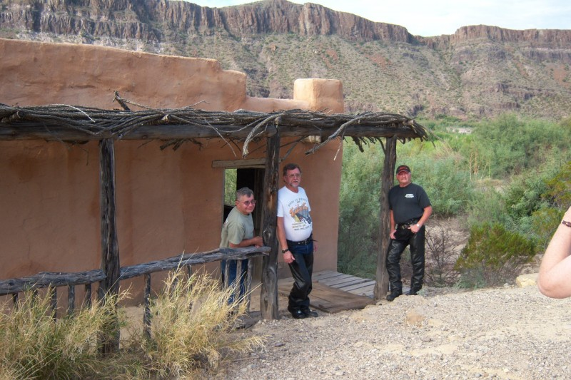 Contrabando movie set, Highway 170, River road, Big Bend area, motorcycle touring, motorcycle travel, motorcycle ride
