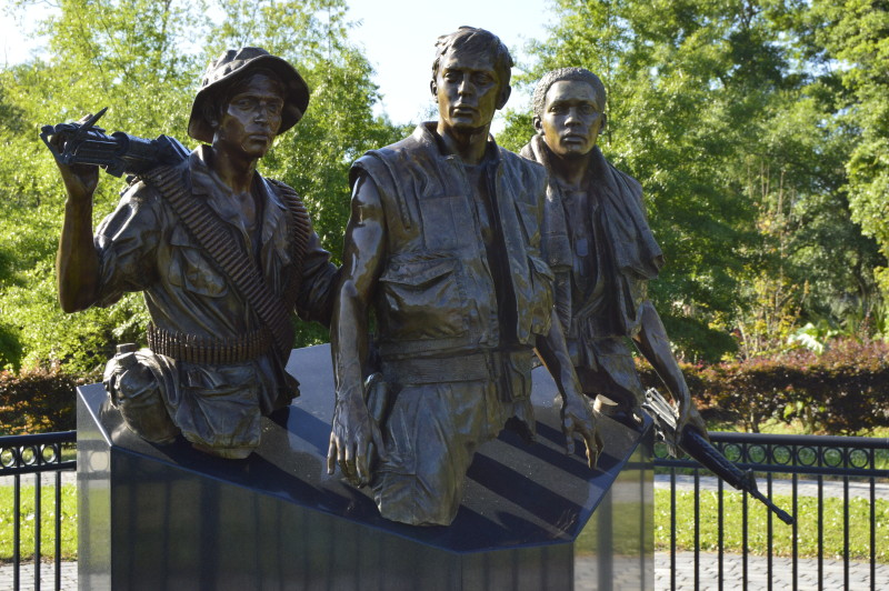 The Three Soldiers Monument, Apalachicola, Florida , travel